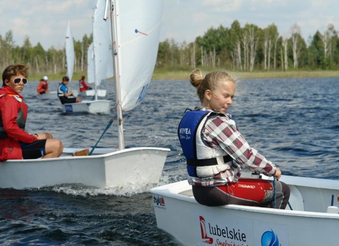 Zacznij przygodę z żeglarstwem na bezpłatnych zajęciach – sezon 2015