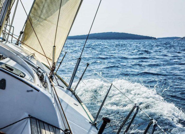 Zaczynamy naszą przygodę z Morzem! Rejs morski na jachcie Roztocze. W końcu :)
